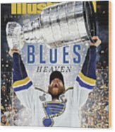 St. Louis Blues, 2019 Nhl Stanley Cup Champions Sports Illustrated Cover Wood Print