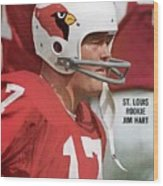 St. Louis Cardinals Jim Hart Sports Illustrated Cover Wood Print
