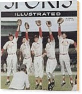 St. Louis Cardinals Sports Illustrated Cover Wood Print