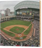 St. Louis Cardinals V Houston Astros Wood Print