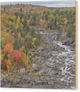 St Louis River Valley Wood Print