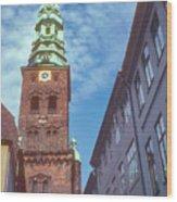 St. Nikolai Church Tower Wood Print