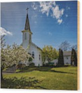St. Paul's Catholic Church 2 Wood Print