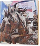 Stagecoach 2 Wood Print