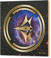 Starship Meridian Wood Print