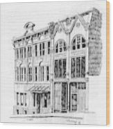 State Publishing And Parchen Building Helena Montana Wood Print