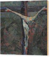 Station 12 Jesus Dies On The Cross Wood Print