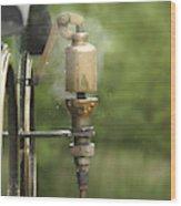 Steam Whistle Wood Print