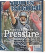 Stepping Up Under Pressure Matt Hasselbeck Leads The Sports Illustrated Cover Wood Print