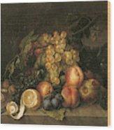 Still Life, 1808 Wood Print