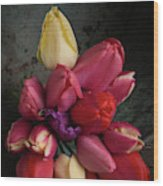 Still Life With Tulips 35 Wood Print