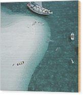 Stocking Island, Bahamas Wood Print