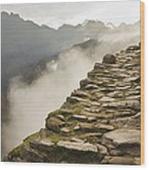 Stone Inca Trail Wood Print