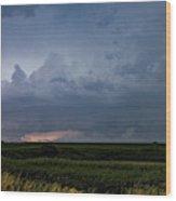 Storm Chasing West South Central Nebraska 048 Wood Print