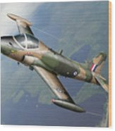 Strikemaster Wood Print
