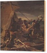 Study For The Raft Of The Medusa Wood Print