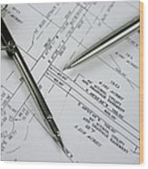 Subdivision Development Planning Wood Print