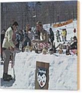 Sugarbush Skiing Wood Print
