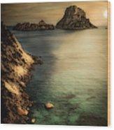 Summer In Ibiza Wood Print