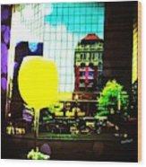 Summertime Downtown Lexington  Wood Print