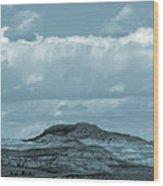 Sundance Of The Badlands Wood Print