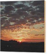 Sunrise 4 Wood Print