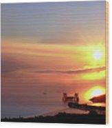 Sunrise - Morning Calm Wood Print