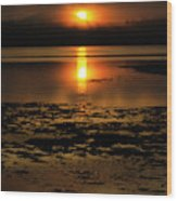 Sunrise Rathtrevor Beach 6 Wood Print