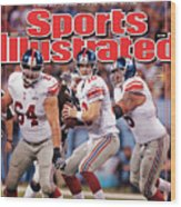 Super Bowl Xlvi... Sports Illustrated Cover Wood Print