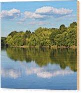 Susquehanna River Wood Print