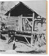 Sutters Mill Wood Print