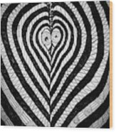 Swanlove Wood Print