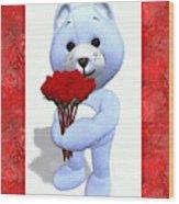 Sweet Bear Wood Print