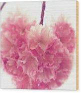 Sweet Heart Of Spring Wood Print