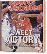 Syracuses Carmelo Anthony, 2003 Ncaa National Championship Sports Illustrated Cover Wood Print