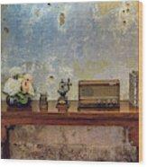 Table Of History Wood Print