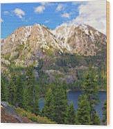 Tahoe Inspiration Point Wood Print