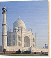 Taj Mahal, Agra, Uttar Pradesh, India Wood Print