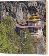 Taktsang Monastery  Wood Print