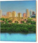 Tampa, Florida Wood Print