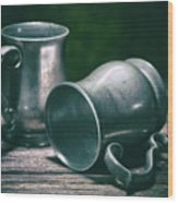 Tankards Wood Print