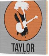 Taylor Swift Wood Print