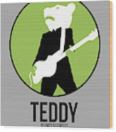 Teddybear Wood Print