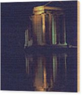 Temple Of Asclepius Wood Print