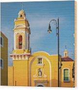 Templo Del Ex-hospital De San Roque Wood Print