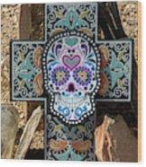 Terlingua Cross Wood Print