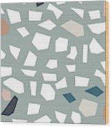 Terrazzo 1- Art By Linda Woods Wood Print