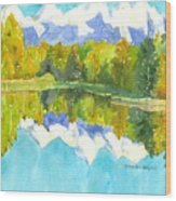 Teton Impressions Wood Print