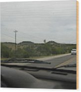 Texas Hill Country  Wood Print