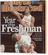 Texas Kevin Durant, 2006 2k Sports College Hoops Classic Sports Illustrated Cover Wood Print